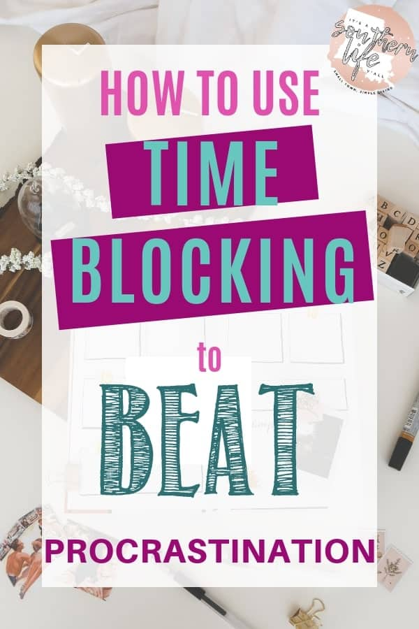Plan your day for productivity when you use time blocking. Need help with time management and being productive? Block scheduling can help!