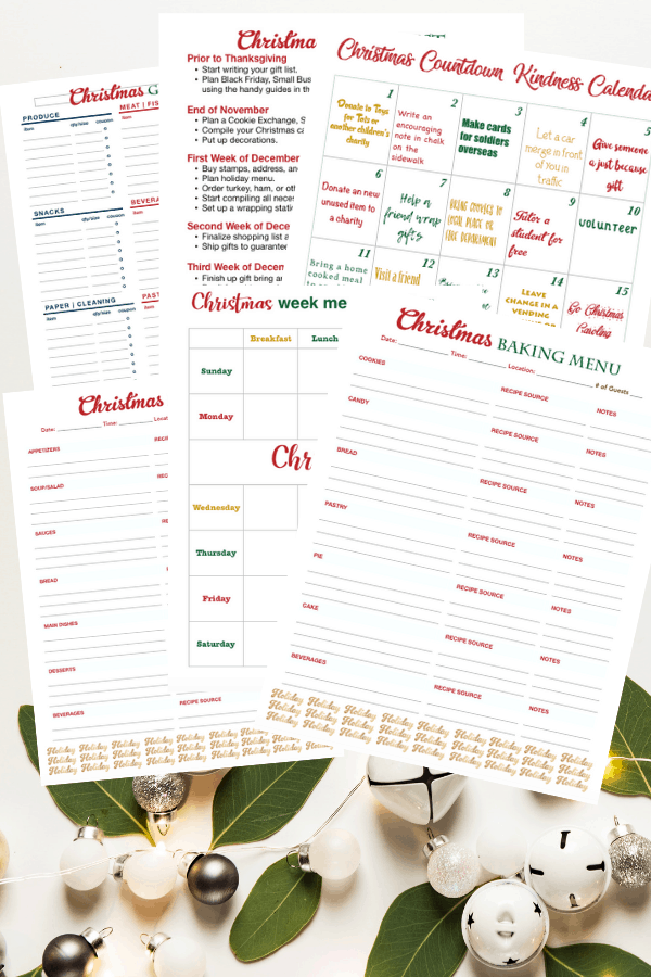 2018 It's a Southern Life Y'all Holiday Planner is ready to purchase. Thanksgiving and Christmas planning organized just for you.
