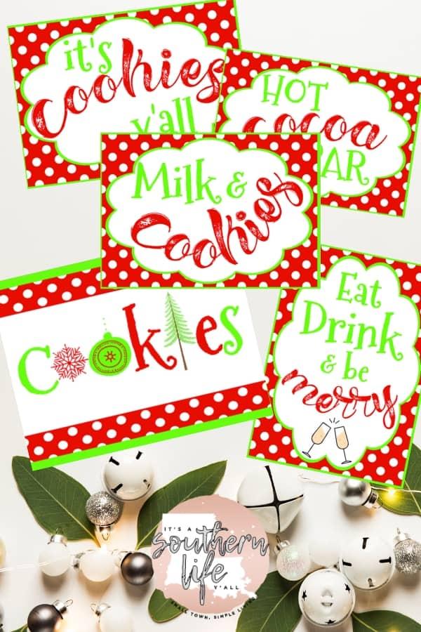 Cookie Exchange Party Printable Package