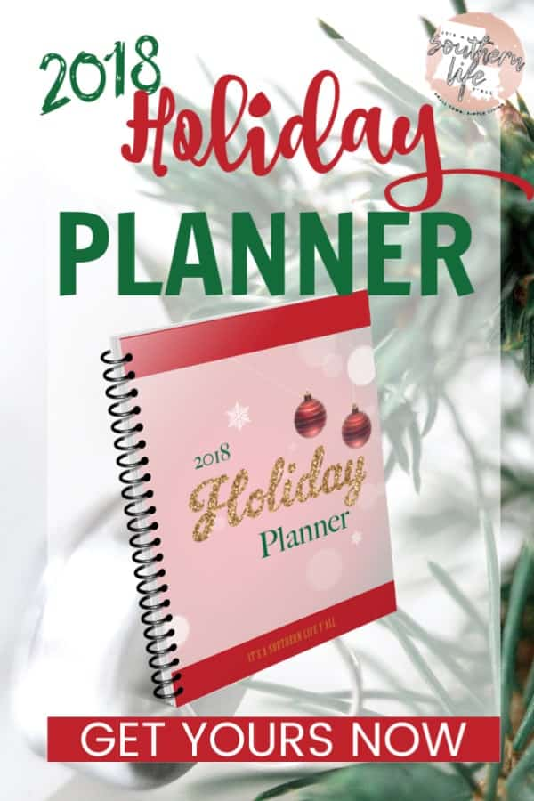 Get your 2018 Holiday Planner