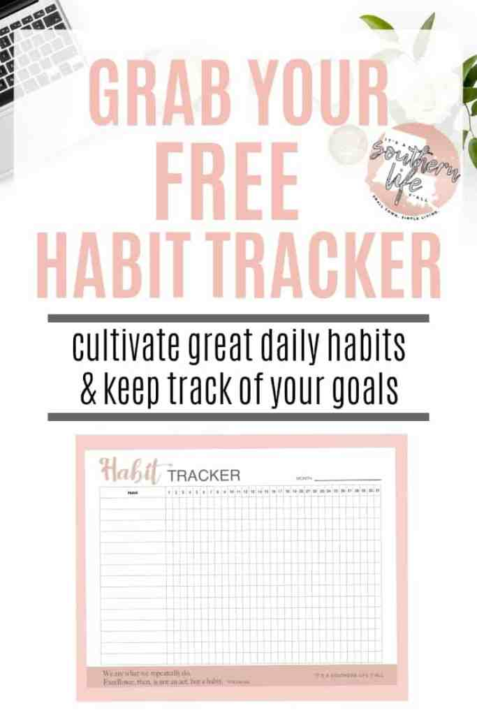 Get your free habit tracker and learn how to make your mornings easier. Take control of your morning and take control of your productivity.