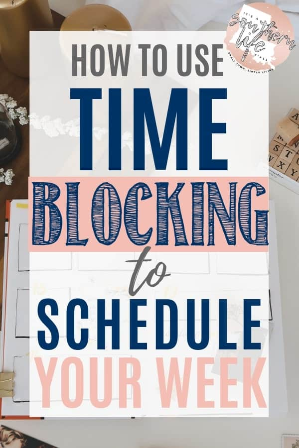 Schedule and organize your week for better time management and productivity by using time blocking. Here are my steps that I use to plan my week along with my schedule and printable planner.