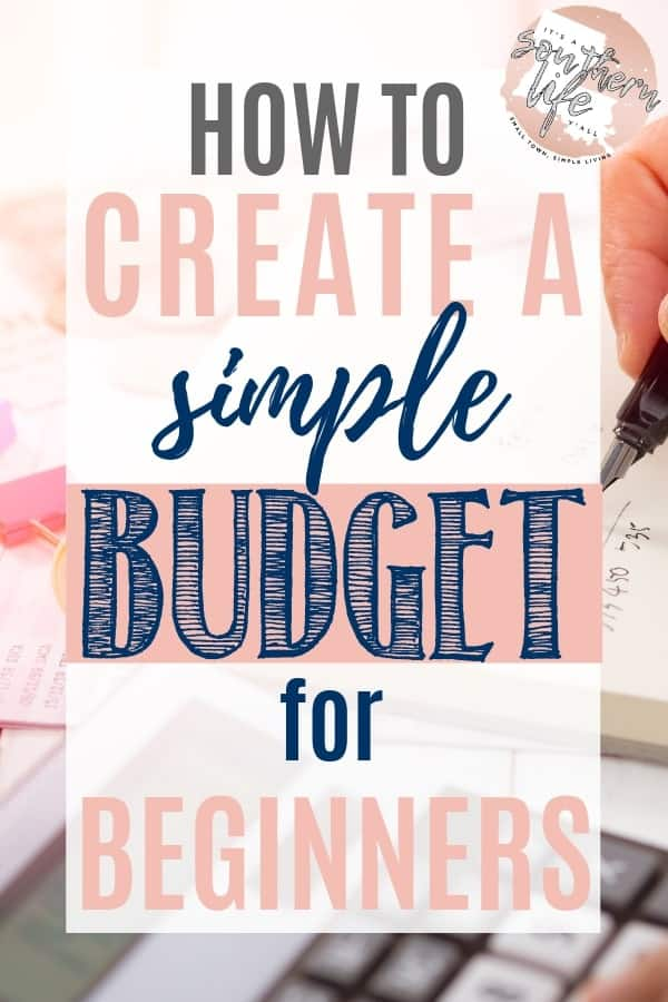 Create a simple budget for beginners and get started on your way to financial peace. Easy budgeting and finance advice to help you control your spending.