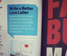 Just bringing the party home in Men's Health Magazine.
