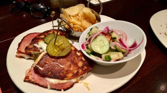max brenner waffle cubano sandwich nyc new york