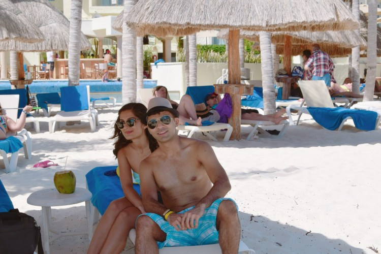 white sand beaches of cancun mexico, paradise island, resorts on hotel zone, chilling at the beach