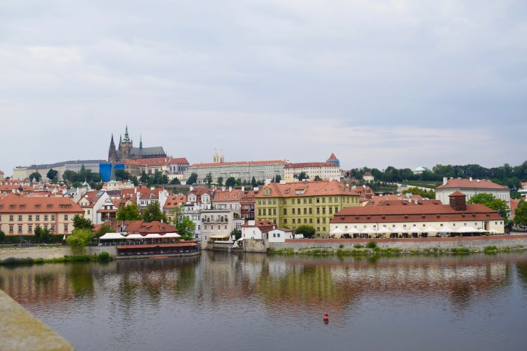 prague view from charles bridge prague