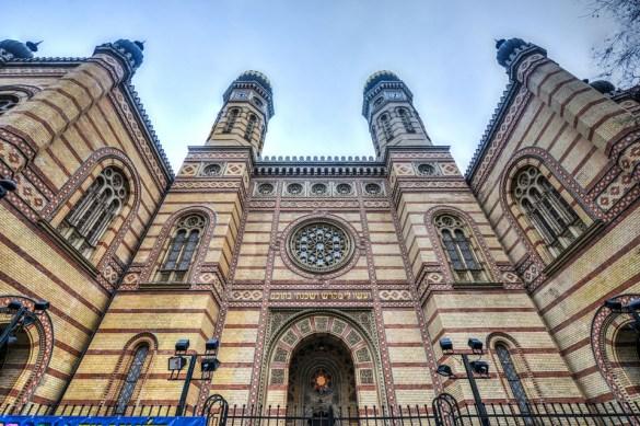 dohany street synagogue budapest hungary europe buda castle