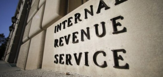 Internal Revenue Service Sign