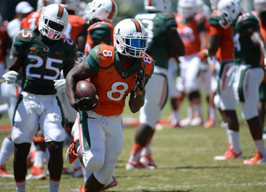 """new arrival b82c9 46969 Miami Fall Practice: The Latest At """"The U"""" – ItsAUThing.com ..."""