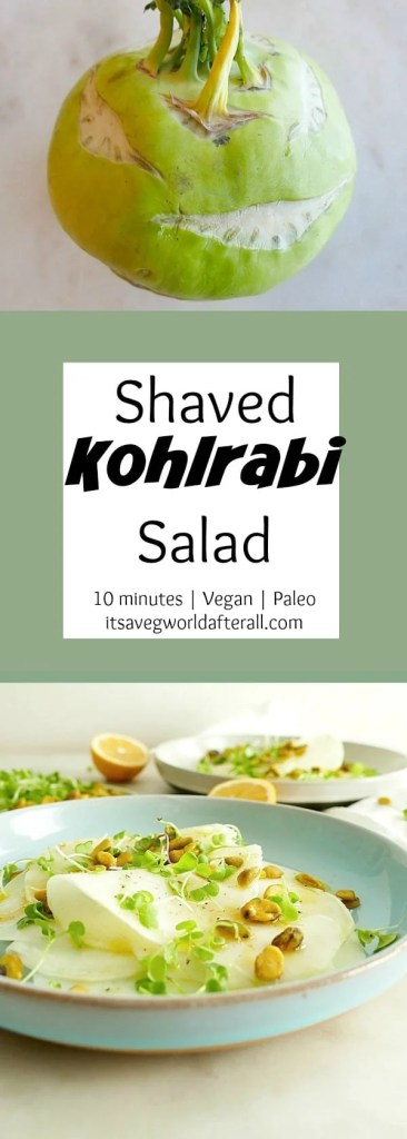 Shaved Kohlrabi Salad