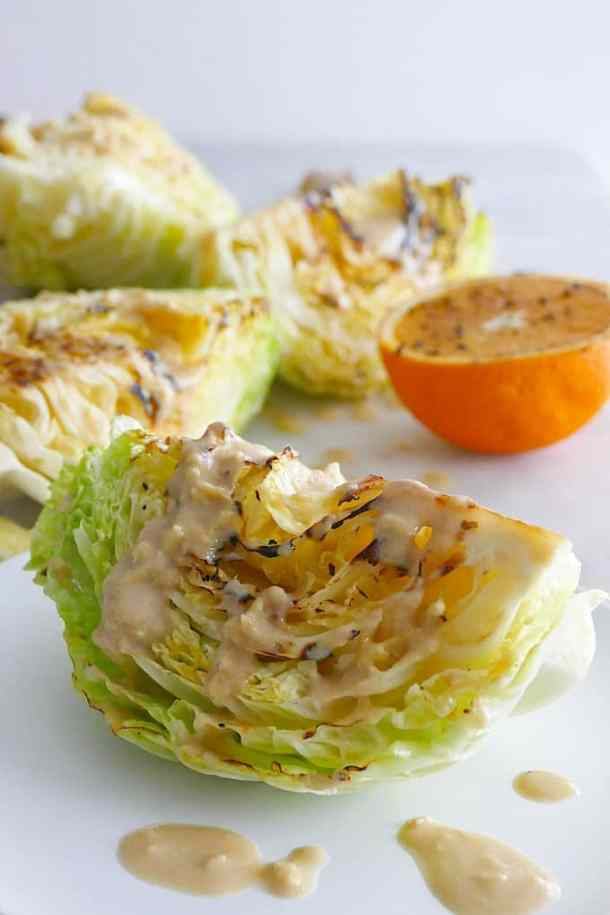 Seared Cabbage Wedges