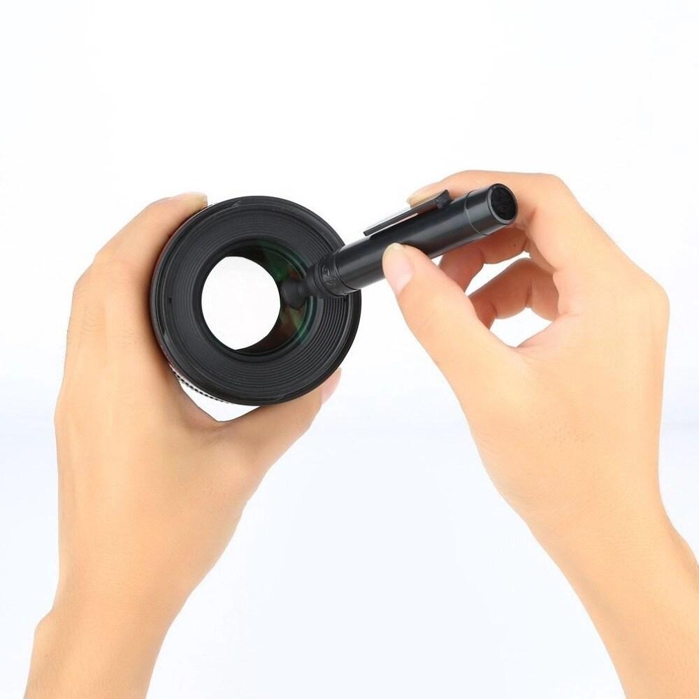 3 in 1 Kit Lens Cleaner Pen Dust Cleaner For DSLR VCR DC Camera Lenses Filters Cleaning Retractable Brush
