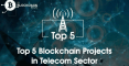 blockchain projects in telecom sector