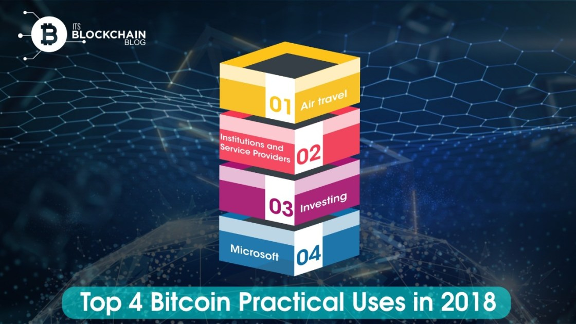 Top Bitcoin Practical uses in 2018
