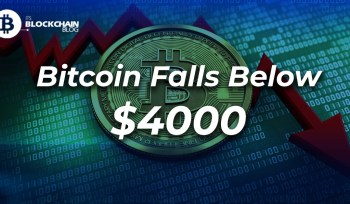 bitcoin falls below 4000$