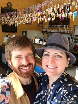 Brianne Nemiroff and Benjamin Hagerty of It's Bree and Ben at Screamin' Mimi's in Sebastopol