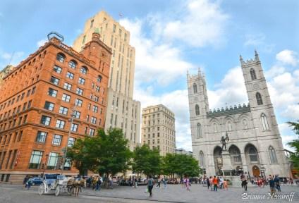 3 Days in Montréal - Old Montréal - Notre-Dame Basilica of Montréal