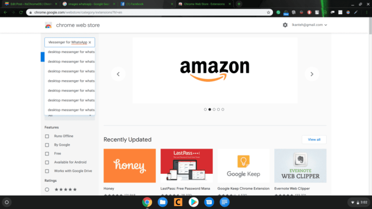 Review and Set up of WhatsApp Chrome Extension on Chrome OS