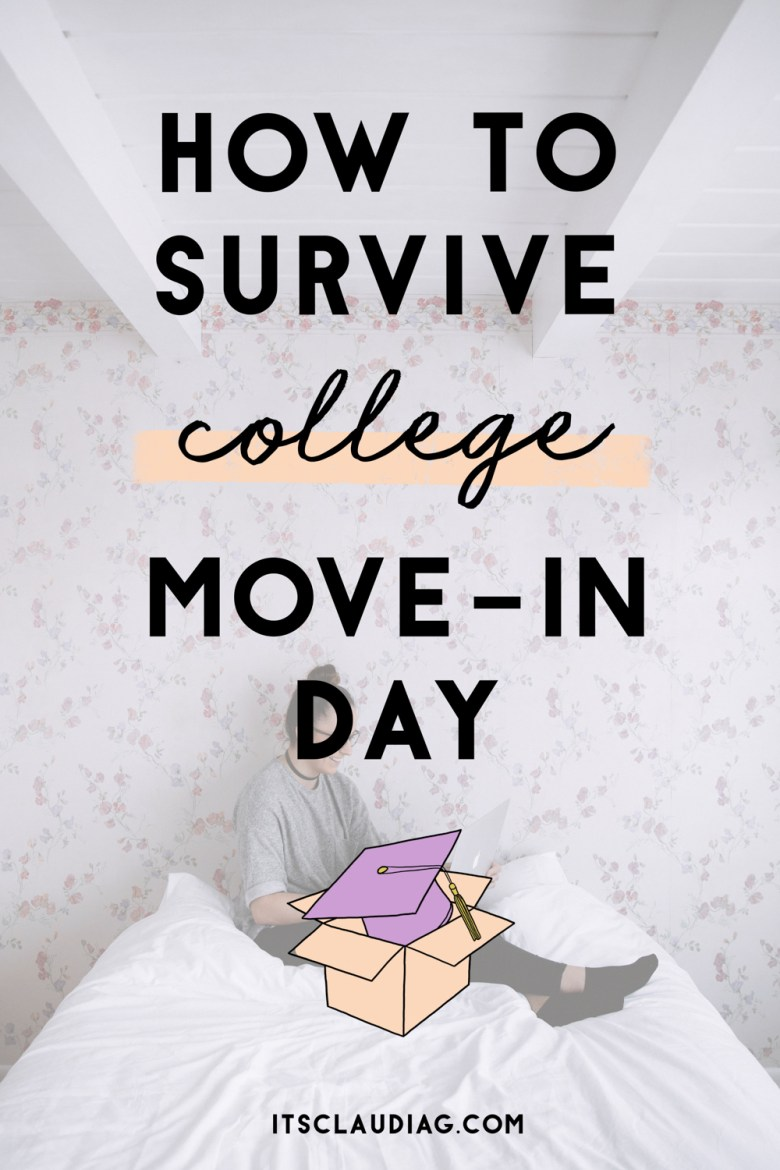 Tips on preparing for your college move-in day