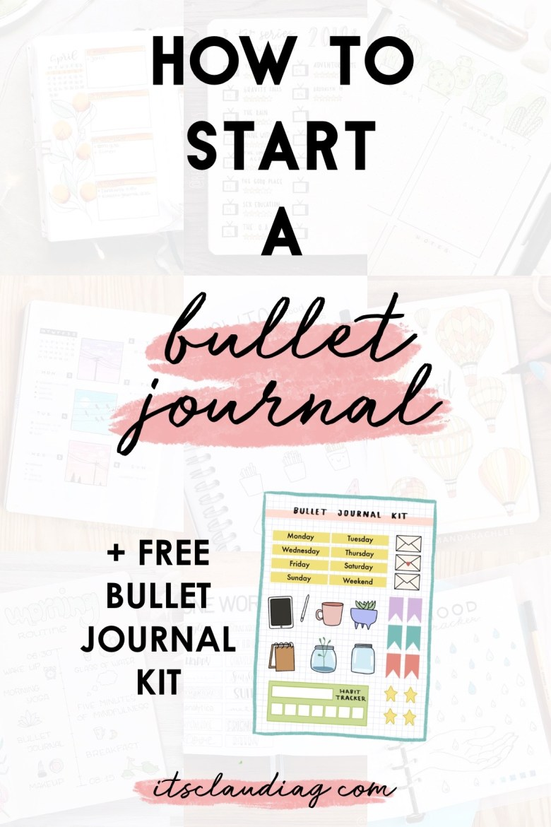 How To Start a Bullet Journal: The Complete Guide - Its Claudia G