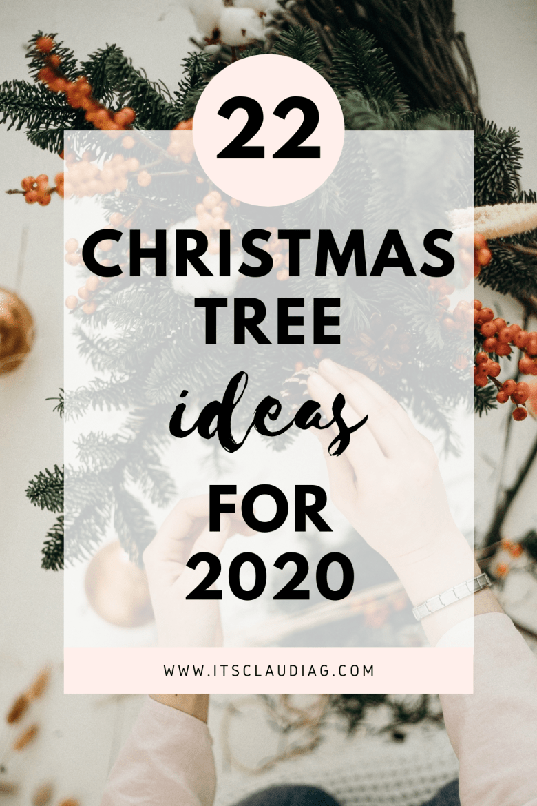 22 best christmas tree ideas for 2020 its claudia g 22 best christmas tree ideas for 2020