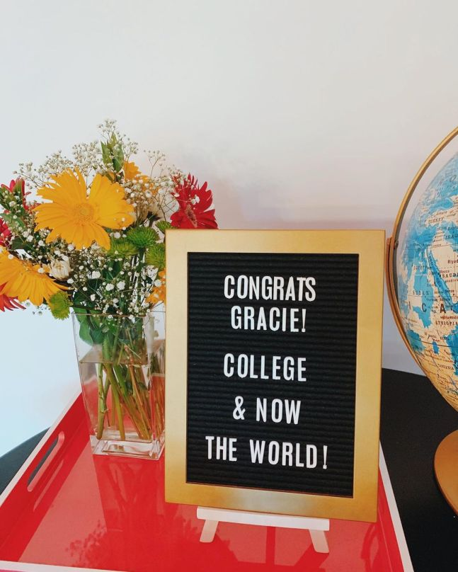 Graduation party ideas for daughter