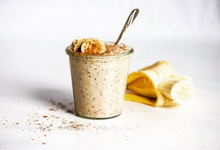Healthy overnight oats weightless recipe