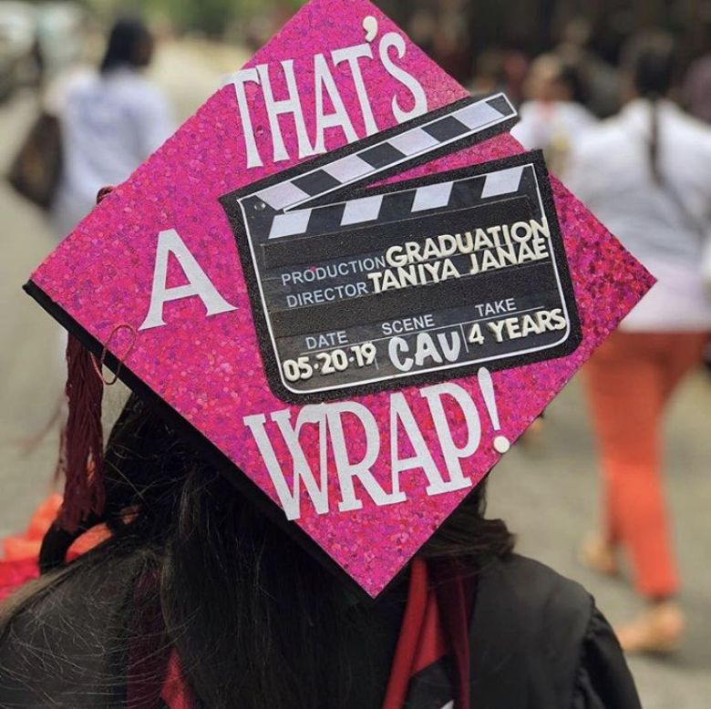 Graduation cap ideas disney