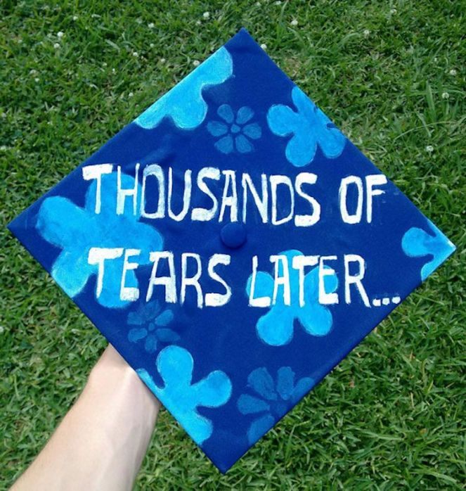 easy graduation cap ideas