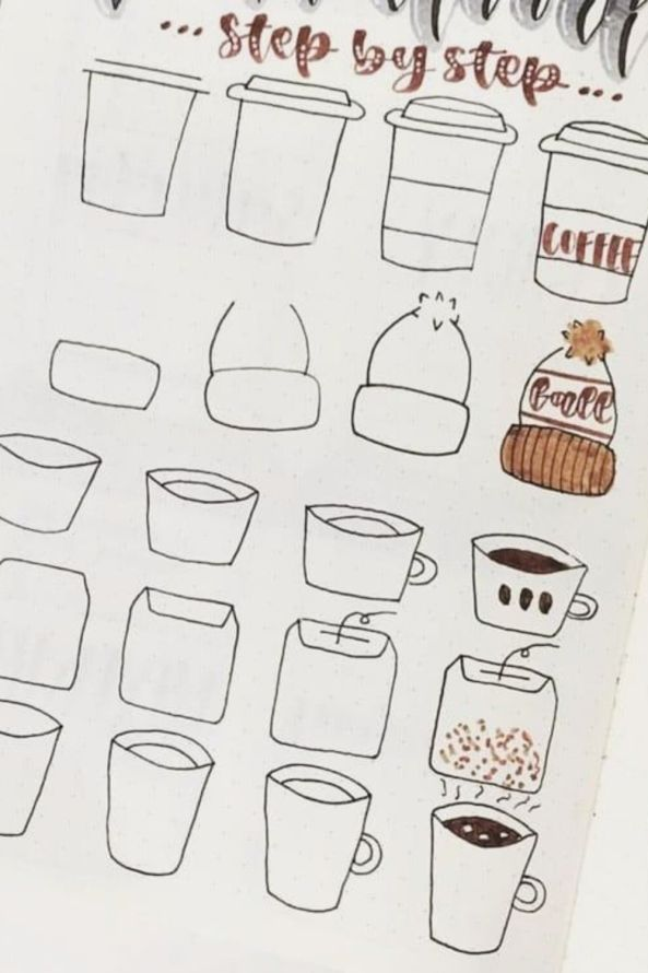 easy doodles for beginners