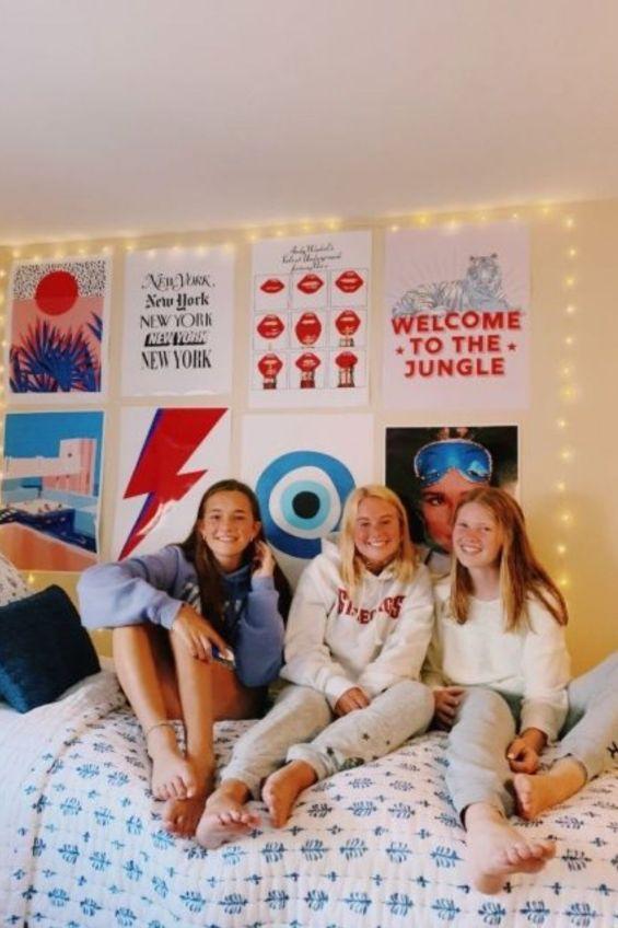 girl college dorm ideas