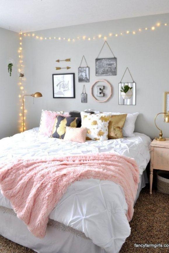 girls dorm room bedding