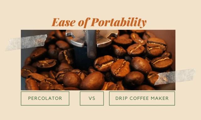 Percolator vs Drip Coffee Maker