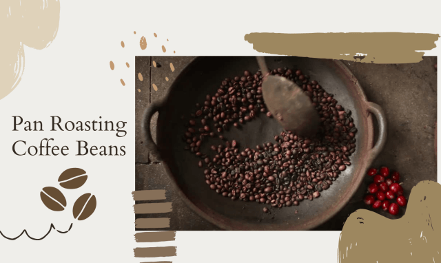 Pan Roasting Coffee Beans