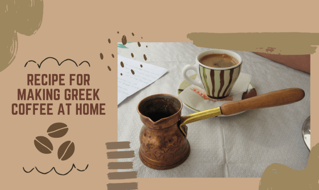 Recipe for Making Greek Coffee at Home