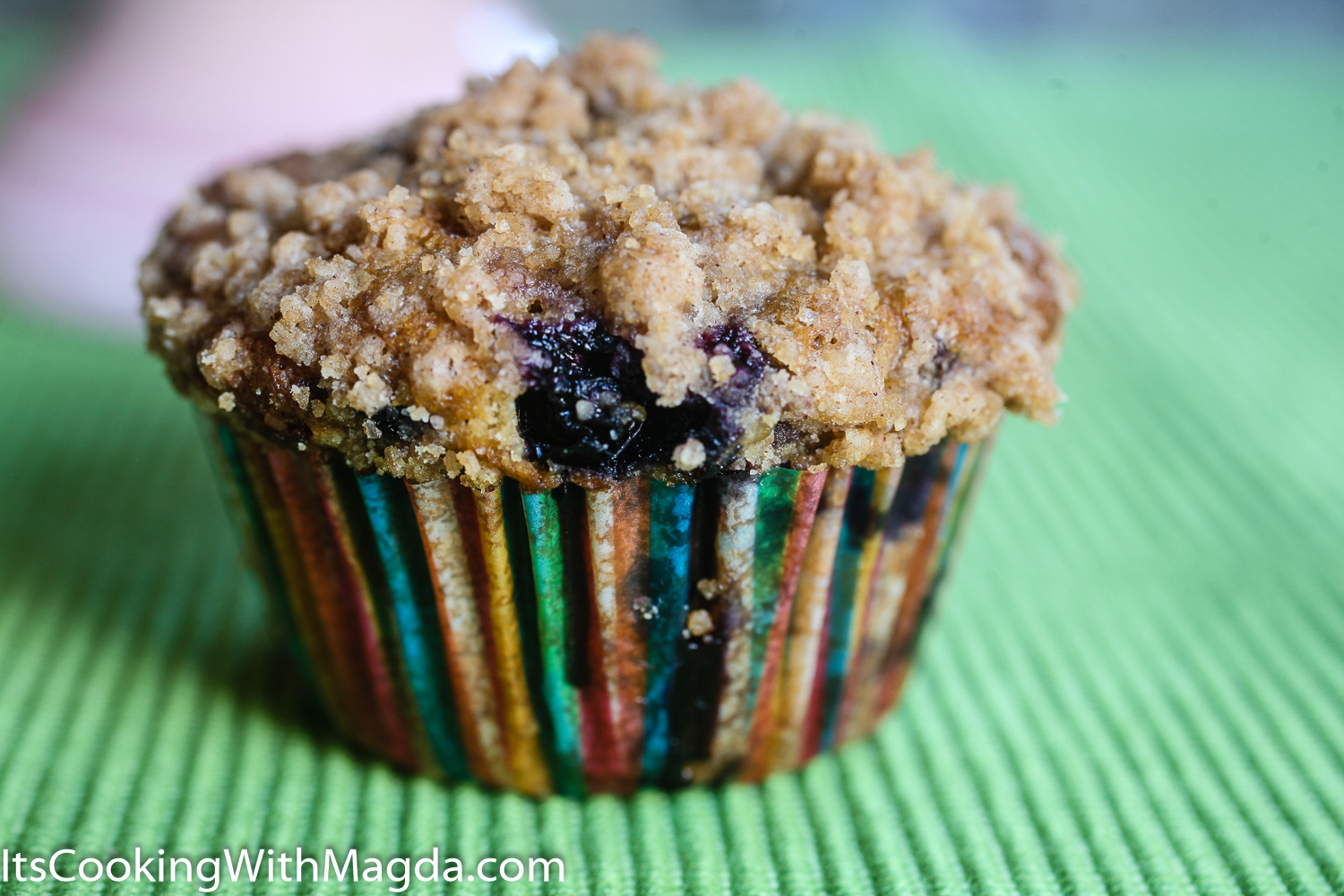 Look No More Blueberry Muffins With Coconut