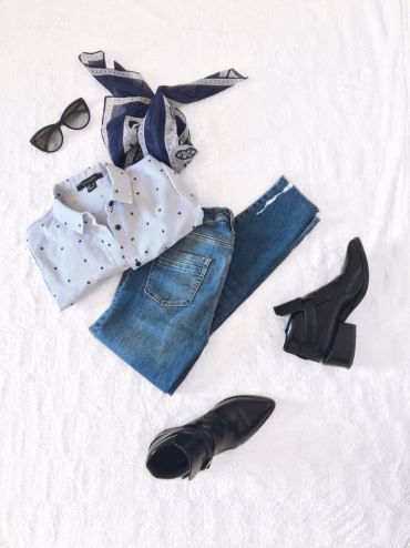 Shirt: Primark, Jeans: River Island, Boots: Forever 21, Sunglasses: Roberto Cavalli