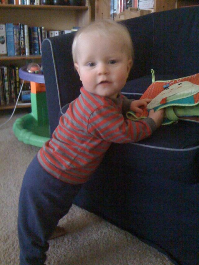 E at 10 months