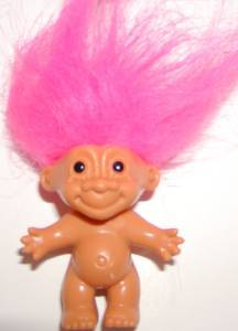Pink-haired troll
