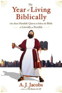 the year of living biblically aj jacobs cover