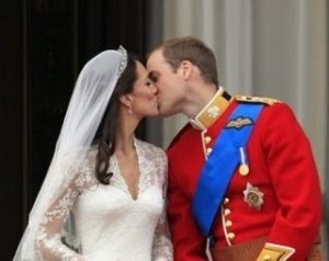 Kate And William Share First Public Kiss