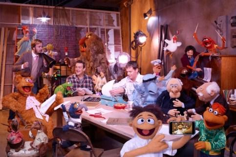 muppets movie filmmakers jason segel bret mckenzie james bobin nick stoller
