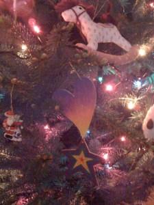 Sebastian's Christmas tree ornament