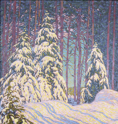 lawren-harris-winter-sunrise