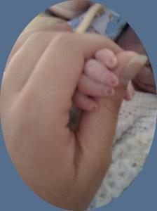 sebastian's hand