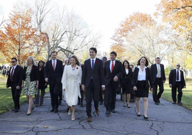 trudeau's new cabinet