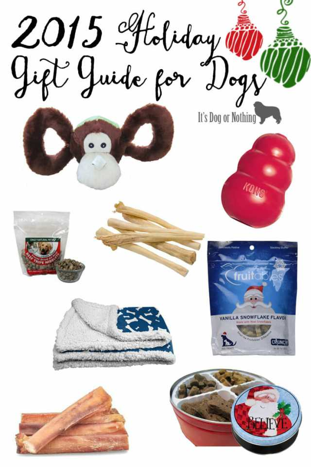 The 2015 Holiday Gift Guide for Dogs