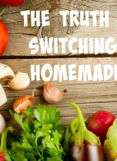 The Truth Behind Switching to a Homemade Diet