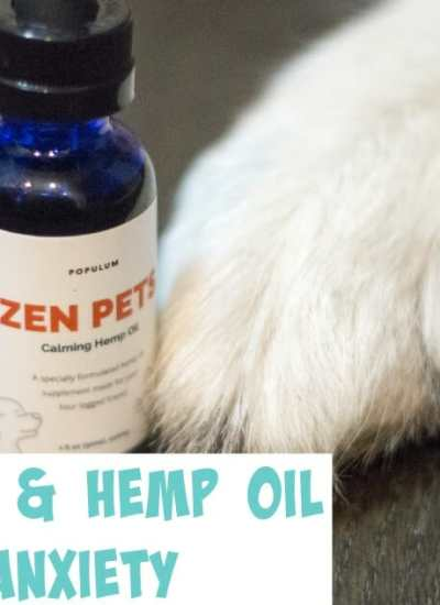 Zen Pets and Hemp Oil for Pet Anxiety